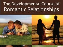 part of book cover  for Developmental Course of Romantic Relationships