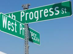 Farm Progress Show sign