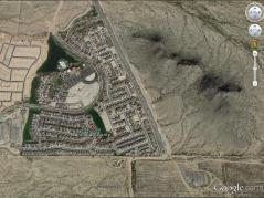 Google earth image of Maricopa County