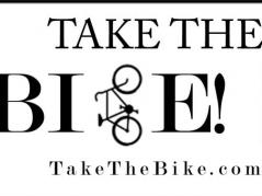 takethebike sticker