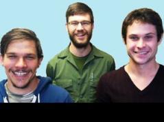 L-R: Rafter Ferguson, Dane Hunter, Ron Revord