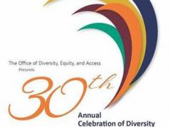 graphic for 30th annual celebration of diversity at the University of Illinois
