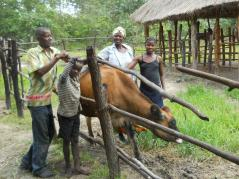 Zambian family