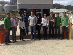 Richard Gates and colleagues in Itanhandu, Minas Gerais, Brazil