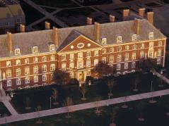 aerial of Mumford Hall