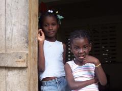 rural Haitian girls