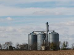 Illinois grain bins