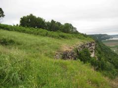 Prairie hill remnant